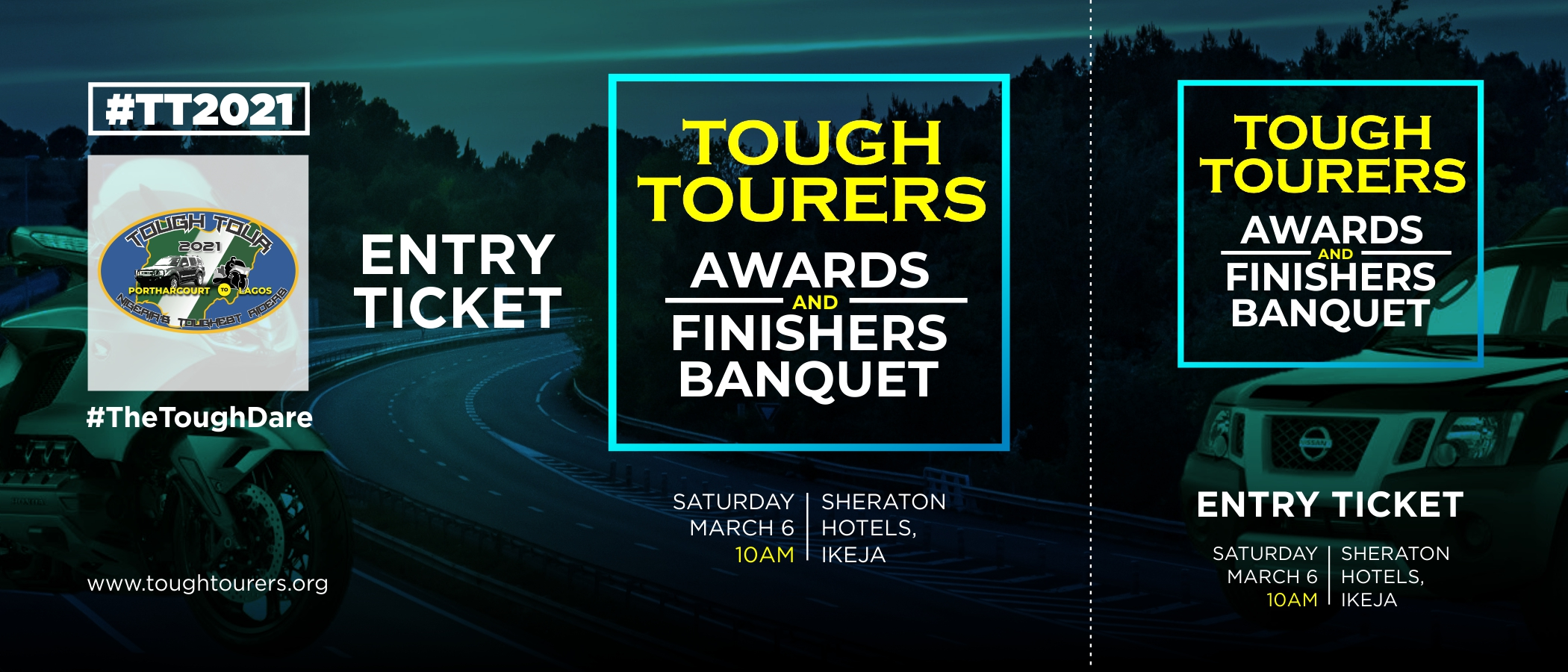 Tough Tourers Ticker 2021